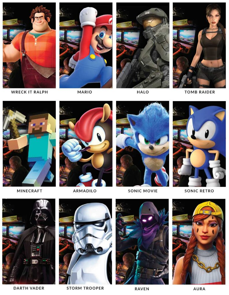 Choose your character